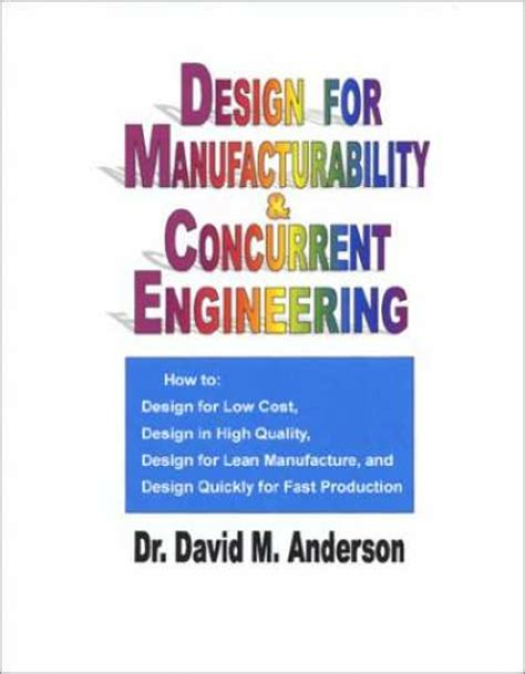 design for manufacturability handbook design book covers 350 399
