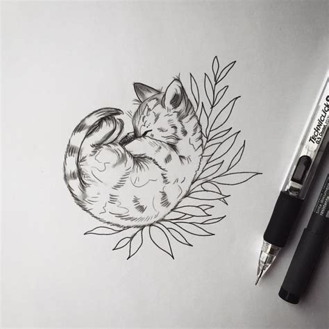 black and white cat tattoo collection of 25 black white cat design