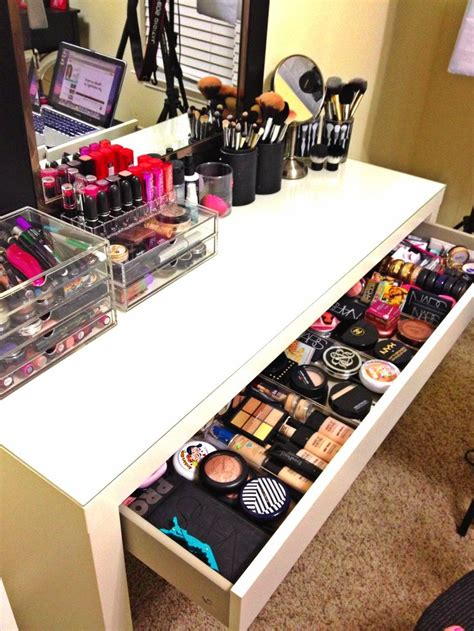 my desk has no drawers best 25 ikea makeup storage ideas on pinterest makeup