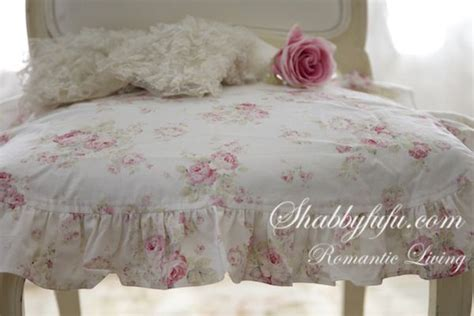 shabby chic ruffled chair cushions shabby chic ruffled chair cushions exclusive to