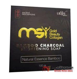 Sabun Madu Msi msi bamboo charcoal soap agen resmi dari pt msi