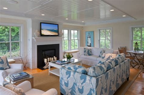 beach house living room family style beach house traditional living room