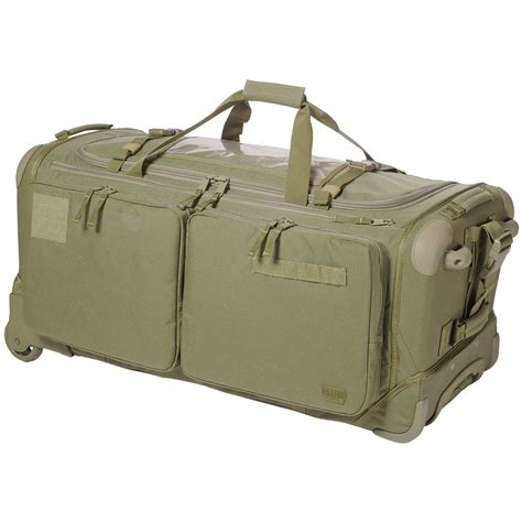united military baggage 5 11 soms 2 0 tactical travel luggage duffle bag rolling