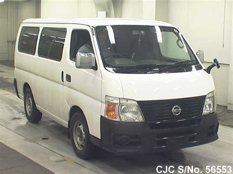 nissan caravan 2006 2006 nissan caravan white for sale stock no 56553