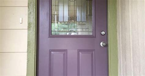 Our Purple Front Door Sherwin Williams Quot Expressive Plum Plum Front Door