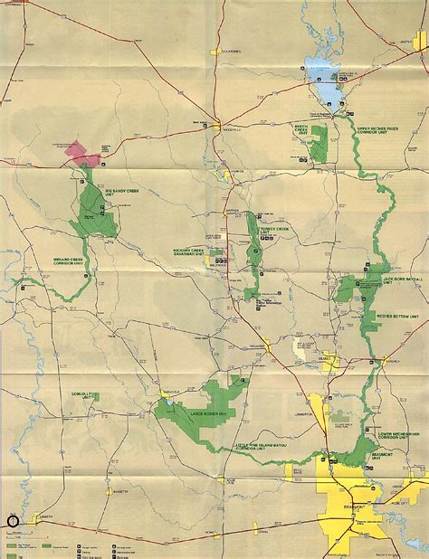 map of state parks in texas texas state and national park maps perry casta 241 eda map collection ut library