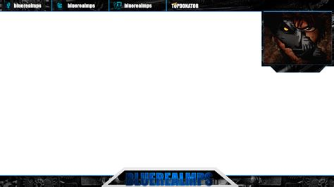 the gallery for gt twitch overlay psd