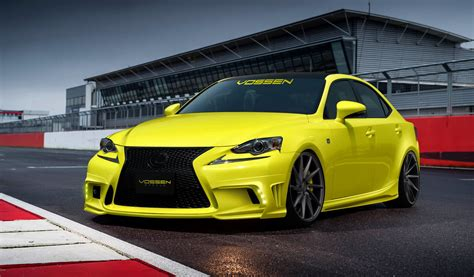 lexus is350 custom 2014 lexus is350 f sport by vossen wheels review top speed