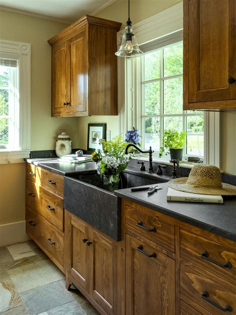 best wood for kitchen cabinets top 50 pinterest gallery 2014 hgtv sinks and kitchens