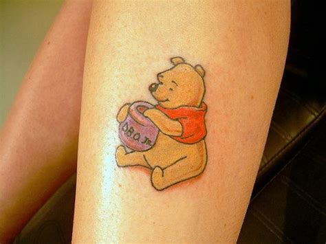 winnie pooh tattoos designs 15 amazing character ideas amazing