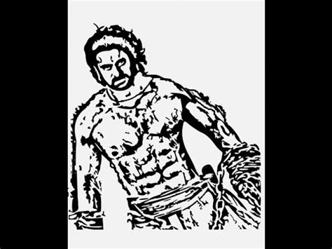 Bahubali 1 Sketches by How To Draw Bahubali 2 Prabha Sketch Pencil Drawing Step