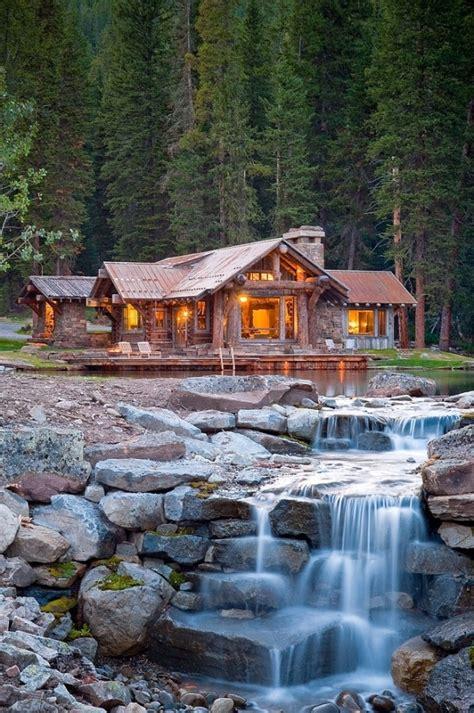 Log Cabin Big Sky Montana Headwaters C Big Sky Montana Home Design Garden