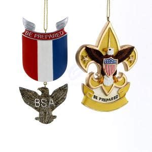 what to get an eagle scout for christmas boy scouts of america eagle badge and fleur de lis ornament set of 2 walmart