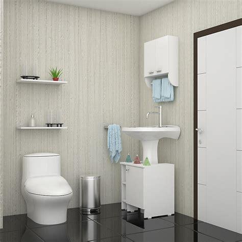 muebles de ba o en kit kit de botiqu n para ba o lavamanos blanco ba 241 o