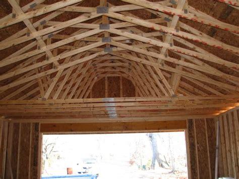 garage roof truss design 24x36 in nc the garage journal board scissor truss design architecture journals