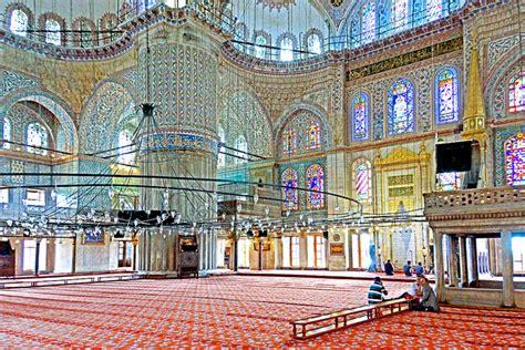 Blue Mosque Interior Photos by Sultan Ahmet S Rhapsody In Blue Traveleering