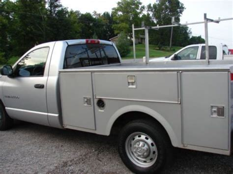 southern truck beds sell used low miles only 107k stahl utility bed clean rust free southern truck work