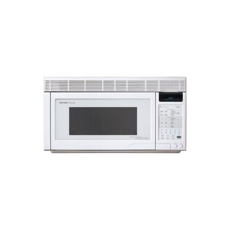 Microwave Sharp R230r S sharp 1 1 cu ft 850w the range convection microwave white appliances microwaves