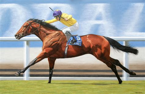 painting racing racehorse paintings and portraits