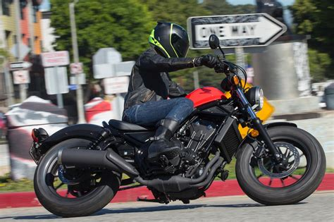 honda rebel     ride review  fast facts