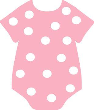 Pink polka dot onesie clip art pink polka dot onesie image