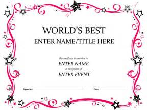 Name A Certificate Template by Doc 640828 Name A Certificate Template Name A