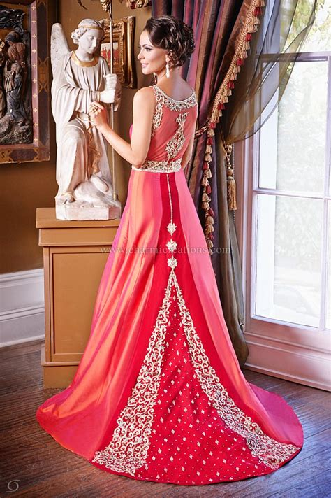 Wedding Wear Gowns by Wedding Reception Dresses Bridal Fusion Gowns Asian