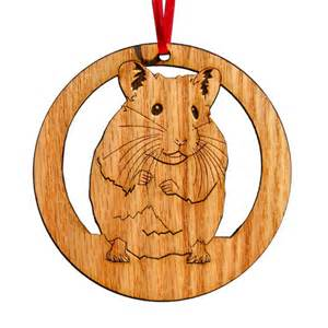 custom hamster christmas ornament gifts gifts for