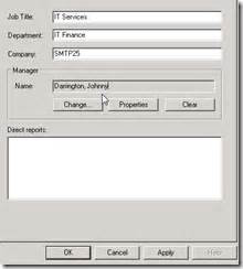 exchange server and active directory disable