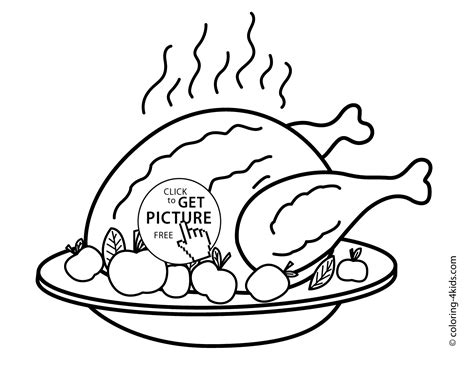 Lovely Ideas Turkey Coloring Pages Thanksgiving Day For Thanksgiving Day Coloring Pages Printable