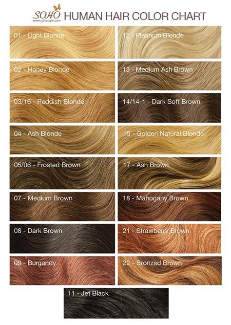 soho hair extension color chart soho style human hair extensions color chart hairstyle 2013