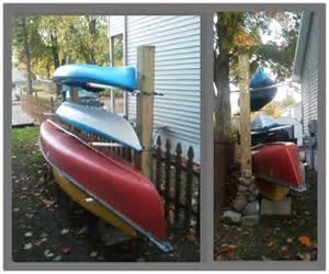 Backyard Kayak Rack Kayak Canoe Rack Wood Storage