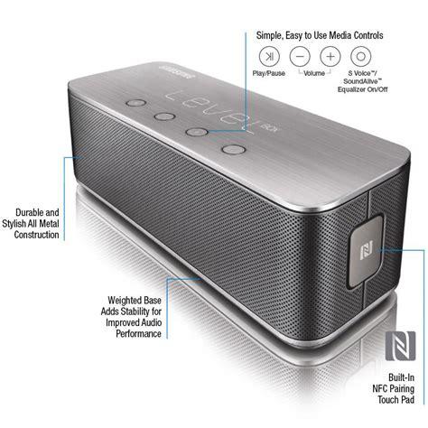 samsung level box bluetooth wireless speaker black cell phones accessories