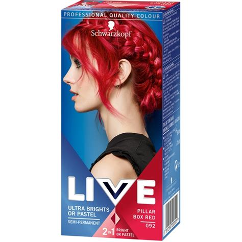 liver color live color hd ultra brights schwarzkopf h 229 rf 228 rg