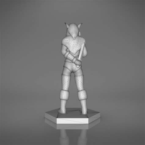 figure 3d printer model rogue character figures 3d print model 3d