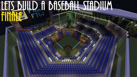 How To Make A Baseball Field In Your Backyard by Minecraft Creative Let S Build A Baseball Stadium