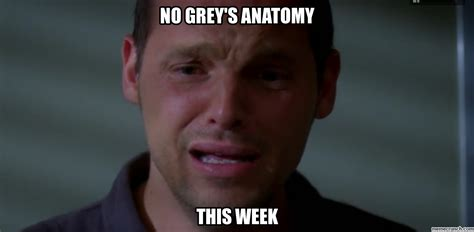 Greys Anatomy Memes - 10 memes that are so you watching grey s anatomy her cus