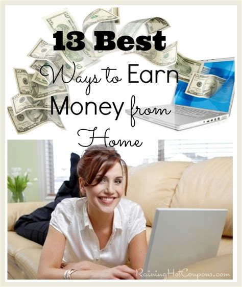 ways to earn money from home list of legit survey
