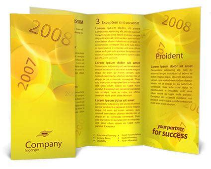 brochure template year 3 2008 yılı reklam taslakları design id 0000000017