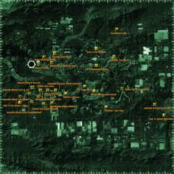 Map Of Fallout New Vegas by Lonesome Road Map Mr T Regular Guy