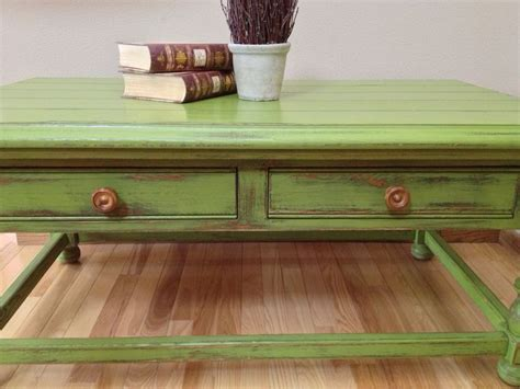 Green Coffee Table Green Coffee Table Shab Bling Pinterest