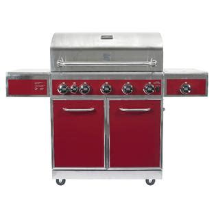 kenmore 5 burner gas grill with ceramic searing and rotisserie burners outdoor kenmore 5 burner gas grill with ceramic searing and rotisserie burners limited