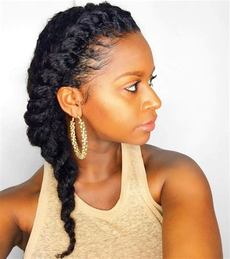 two strand twist braids hairstyles for black women http 7 two strand twist styles that are giving us natural hair envy