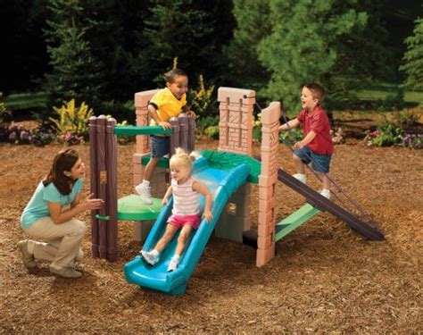 little tikes swing and slide combo little tikes playset with slide climbers and slides