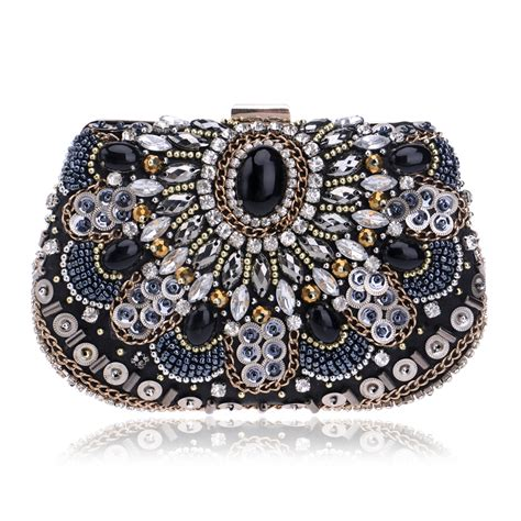 vintage evening bags beaded wedding handbags clutch