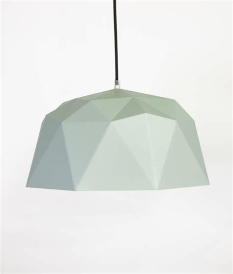 Geometric Pendant Light Kyoto Grey Shade Geometric Pendant Lights