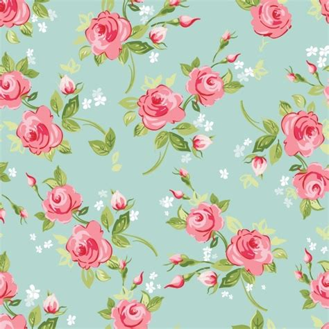 papel de parede adesivo rosas fundo turquesa