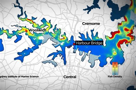 map of fishing spots on sydney harbour abc news australian broadcasting corporation