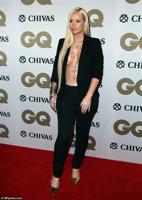 Iggy Azalea shows off  job at GQ Men of the Year Awards   Daily Mail Online