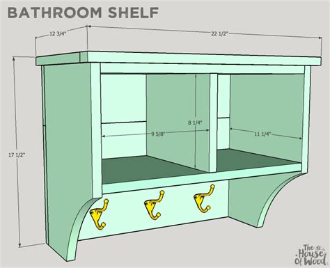 How To Build A Shelf In A Shower by Bathroom Shelf Buildsomething